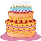 clays birthday cake